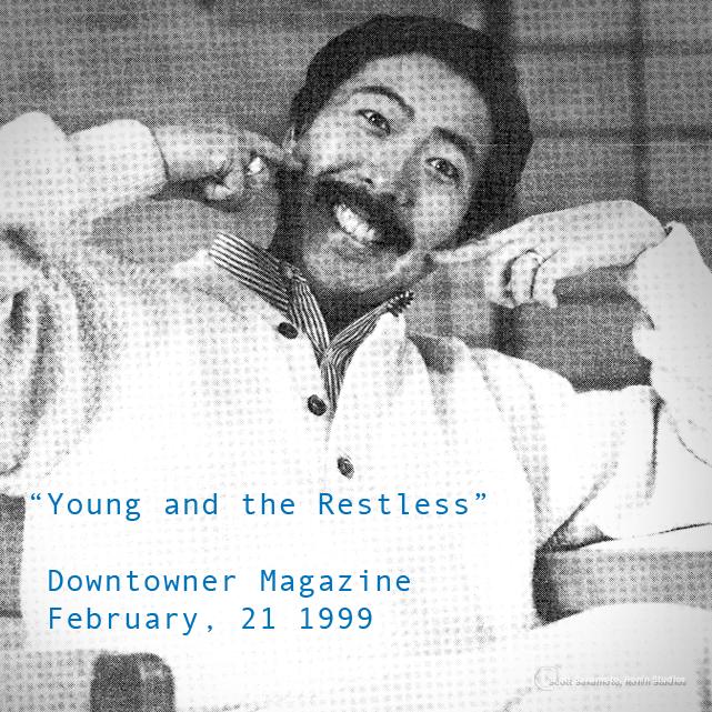 Scott Sakamoto, Portland Downtowner, Portland Oregon, Portland, Oregon, Young and the Restless, 1994