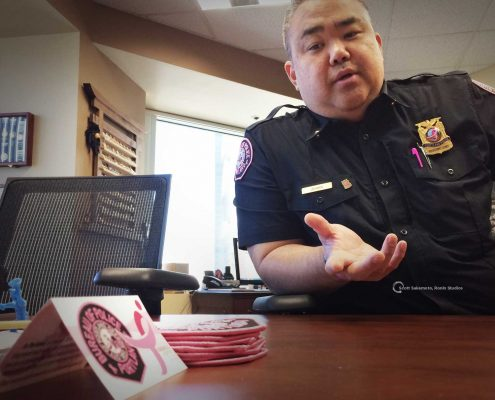 Chris Uehara, Pink October, Portland Oregon, Portland Police,