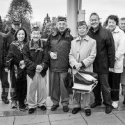 Kay Endo, Chip Larouche, Ron Iwasaki, Ed Fujii, Henry Ueno, Don Matsuda, Setsy Larouche, Eddie Kajitsu, Joe Onchi, Rev. Anna Cho