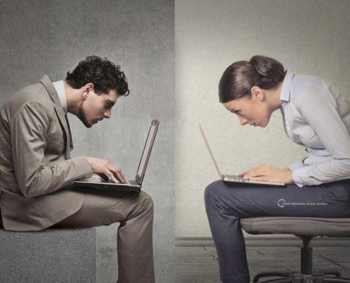 Slouch, Posture, Bad Posture, Computer Posture