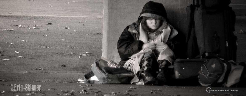 Ride-Along, Freezing Weather, Homeless, Erin Skinner