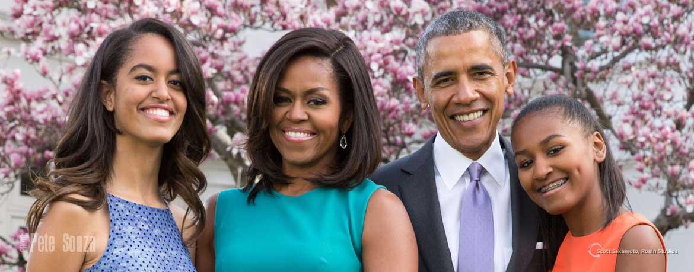 Barack Obama, Michelle Obama, Obama Family, President, United States, Pete Souza