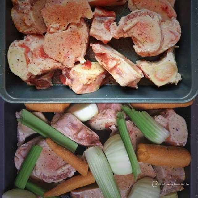 Beef Bones, Beef Stock, Chicken Bones, Chicken Stock