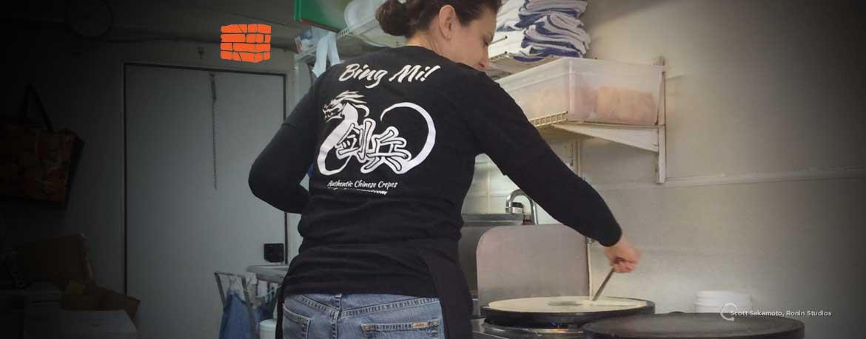Alisa Grandy, Food Cart, Portland Oregon, PDX, Bing Mi