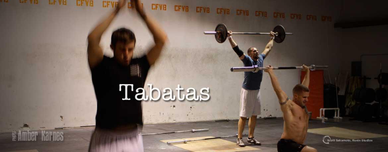Tabatas, HIIT, High Intensity Interval Training