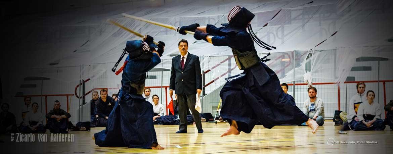 Kendo, Men, Head Strike