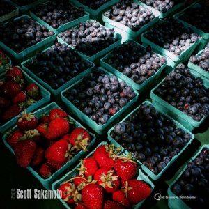 Blueberries, Fruit, Blue Fruit, Strawberries, Red Fruit