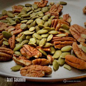 Pumpkin Seeds, Walnuts, Almonds