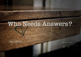 Answers, Bad Haiku, Leadership