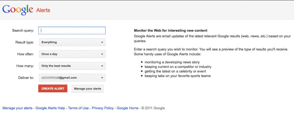 Google Alert, Google Alerts
