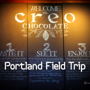 Chili Oil, Creo Chocolate, Field Trips, Jeffrey Niiya, NedSpace, Portland Police Bureau, Sao Noi, World Foods