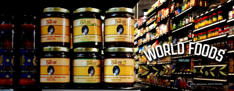Chili Oil, Creo Chocolate, Field Trips, Jeffrey Niiya, Portland Police Bureau, Sao Noi, World Foods