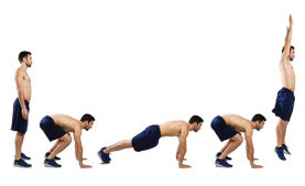 Push Ups, Cardio, Conditioning, Burpees, Functional Training