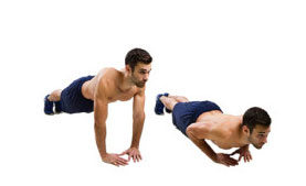 Push Ups, Cardio, Conditioning, Functional Training
